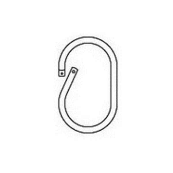 anneau plastique ovale